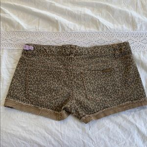 Celebrity Pink Shorts - Cheetah Shorts